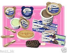 Megahouse White Bear Ice Cream Shop Miniature  Re-ment Size Very Rare Set