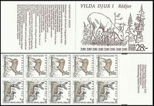 Suede Sweden Schweden Chevreuils Capreolus Roe Deer Reh ** 1992 Carnet Booklet