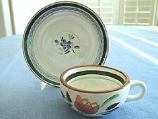 Stangl Pottery TEA CUP & SAUCER Set Country Garden 1956 - 1978