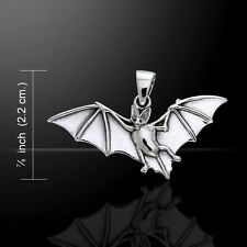 Bat .925 Sterling Silver Pendant by Peter Stone