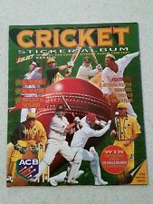 ACB Cricket select sticker album 1996 1997 (unused no stickers empty)