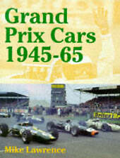 Grand Prix Cars, 1945-65, Good Condition Book, Lawrence, Mike, ISBN 978189987039