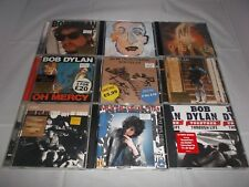 Bob Dylan CD Album x9 Collection: Time Out Of Mind, Street Legal, Self Portrait