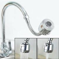 Home Faucet Aerator Water Bubbler Swivel Head Tap Extender Diffuser Nozzle o