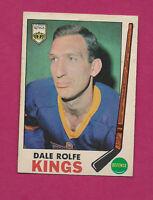 1969-70 OPC # 100 KINGS DALE ROLFE GOOD CARD  (INV#0641 )