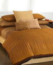 Calvin Klein Kalahari 2 Standard Pillow Shams Rare Tribal Copper Orange