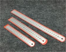 15cm / 20cm / 30cm DOUBLE SIDED STAINLESS STEEL METAL RULER RULE PRECISION