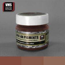 VMS SPOT-ON Pigment No. 07b Medium Iron Oxide Rust 45 ml model weathering powder