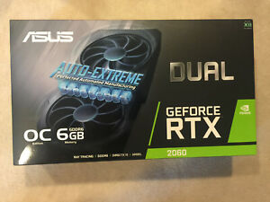 🚀ASUS NVIDIA GeForce RTX 2060 Overclocked 6G GDDR6 EVO🚀 - New In Hand