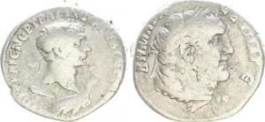 Provinzialprägung - Ar-Tetradrachme 110-111 N.c. Antico/Romano
