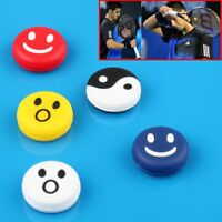 5PCs Smile Face Tennis Racquet Vibration Dampener Shock Absorber Silicone Rubber