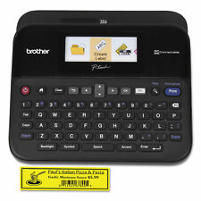 Brother P Touch Pt D600 Pc Connectable Label Maker With Color Display Black