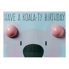 Bomb Cosmetics Birthday Koala Blastercard Fizzing Bath Bombs & Greeting Card
