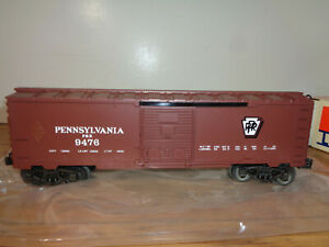 LIONEL O GAUGE # 6-9496 PENNSYLVANIA RAILROAD SINGLE DOOR BOX CAR - NEW