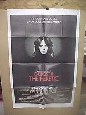 EXORCIST 2: THE HERETIC, orig 1-sh / movie poster (Richard Burton, Max von Sydow