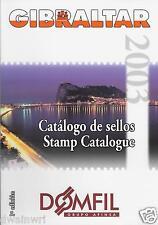 DOMFIL Gibraltar 2003 Stamp Catalogue - $43.50 UNUSED!