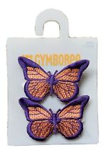 Gymboree Hair Clips x 2 - Butterfly - New With Tag