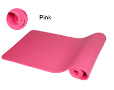 Durable 6/8/10mm Thick Yoga Mat Non-slip Fitness Exercise Pad Mat Lose Weight