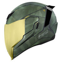 NEW ICON AIRFLITE BATTLESCAR 2 MOTORCYCLE HELMET ALL SIZES STREET STUNT RACE