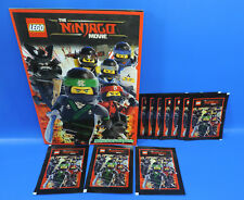 Blue Ocean Lego® Ninjago Movie /  10 Pack =50 Sticker + Album