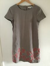 Boden Ladies Embroidered Linen Dress Size 10R