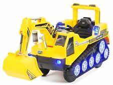 Kinder Elektrobagger D2811 2x25W Motor Kinderfahrzeug Bagger Kipper Miweba