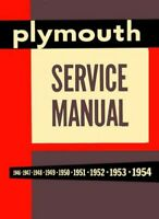1953 1954 Plymouth Shop Service Repair Manual Book Engine Drivetrain Electrical