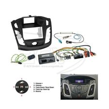 FORD FOCUS ab 2011 Doppel DIN RADIOBLENDE Blende + Lenkrad Adapter Alpine Radio