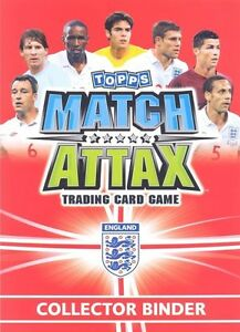 MATCH ATTAX ENGLAND 2010 INTERNATIONAL LEGEND CARDS  & STAR LEGEND CARDS  CHOOSE