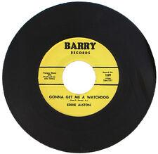 """EDDIE ALSTON  """"GONNA GET ME A WATCHDOG""""    60's R&B CLASSIC   LISTEN!"""