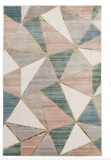 Argos Home Geo Rug - 120x166cm - Blush Without Packaging