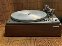 VINTAGE GARRARD LAB-80 TURNTABLE WOOD CASE GREAT CONDITION