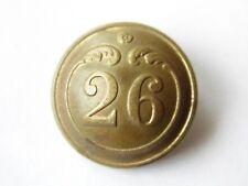 NAPOLEON III : BOUTON 26ème INFANTERIE DE LIGNE GROS MODULE