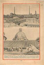 Etat du Vatican Pylones Station Radio TSF Guglielmo Marconi 1930 ILLUSTRATION