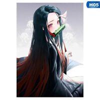 29.7*42cm New Anime Demon Slayer Kamado Nezuko  Wall Art Decor Painting Post #US