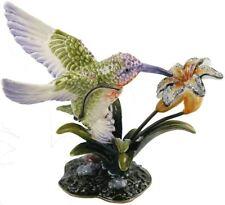 Juliana Treasured Trinkets Humming Bird enamel & diamante trinket box