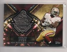 2015 Topps Carlos Hyde Commemorative Medallion  Relic RBFC-CH 14/50