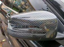 Mercedes-Benz W204 S204 Carbon-Optik Spiegelkappen Blende Tuning NEU