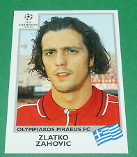 N°186 ZAHOVIC OLYMPIAKOS PANINI FOOTBALL CHAMPIONS LEAGUE 1999-2000