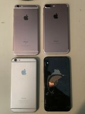 Lot of 4 Complete Assorted iPhones As-Is. IMEI Included