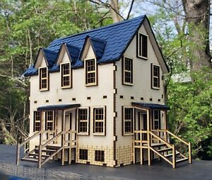 O Scale House Kit Model Railroad Train Building On30 Scale
