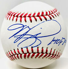New York Mets Mike Piazza Signed Baseball w/ HOF 2016 - Beckett BAS Auto Dodgers