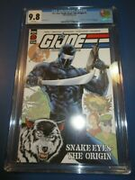 GI Joe Snake Eyes the Origin #1 CGC 9.8 NM/M Gorgeous Gem wow