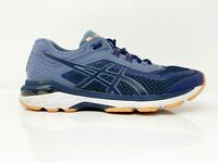 Asics Womens GT 2000 6 T855N Navy Blue Running Shoes Lace Up Low Top Size 7.5