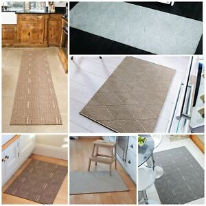 SKYLINE WASHABLE NON-SLIP FLAT WEAVE MAT HARD WEARING SMALL TO LARGE RUG RUNNER