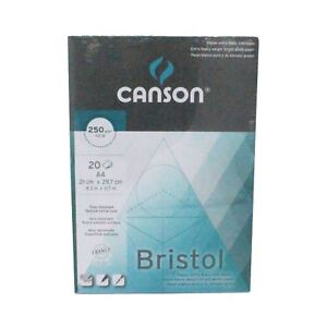 Canson Bristol Graphic Pad Paper 250gsm A4