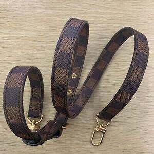 "Shoulder Purse Strap Replacement Handbag Bag Brown EYELET 3/4"""