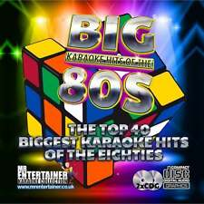 Mr Entertainer Karaoke CDG - The Big 80's Hits - Double Eighties CD+G Discs