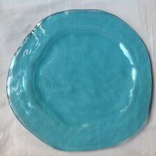 """Annieglass Ultrmarine 13"""" Buffet Plate"""