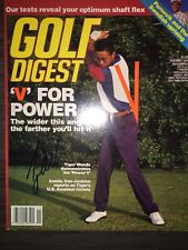 BAS Tiger Woods Signed Golf Digest December '94 Issue - early amateur signature